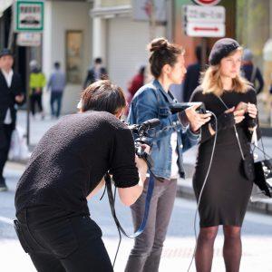 news media, cameraman, video recording